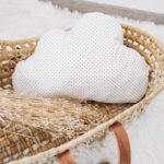 Coussin nuage Points or